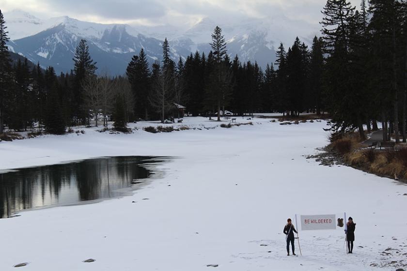 Bewildered in Banff 1